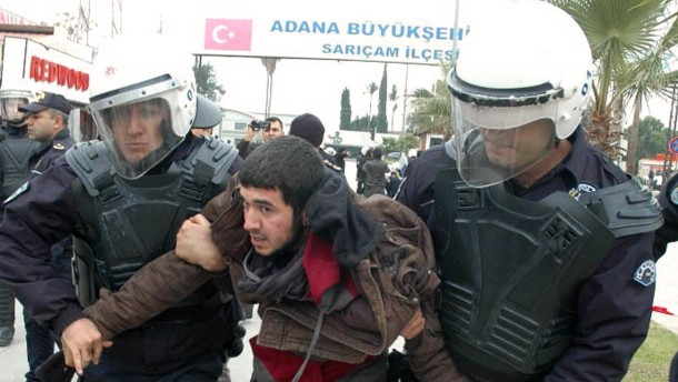 Festnahmen bei Protesten gegen Patriot-Stationierung