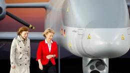 Berlin geht bei Waffenexport-Beschränkungen offenbar auf Paris zu