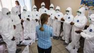 Sicherheitsrat beschließt UN-Mission gegen Ebola