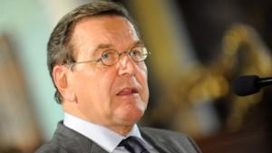 Schröder sieht seine Politik als Grund für Aufschwung