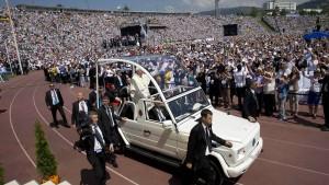 Papst: Eine Art dritter Weltkrieg ist im Gange