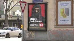 Schweiz steuert auf Verhüllungsverbot zu