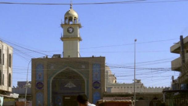 Anschlag auf Goldene Moschee in Samarra