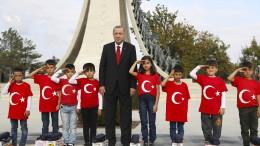 Erdogan droht mit Fortsetzung der Offensive in Nordsyrien