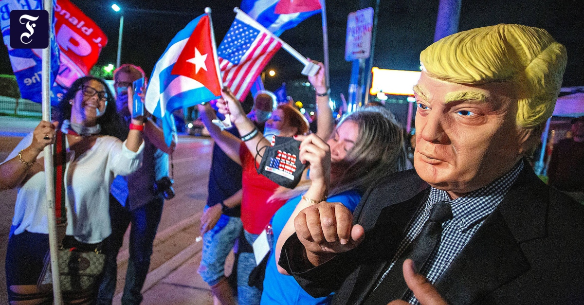 Trump düpiert Wahlforscher: Der große Irrtum in Florida