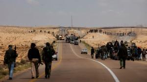 Gaddafi-Truppen haben weiter die Oberhand
