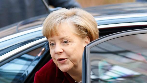 Merkel droht Russland mit Sanktionen