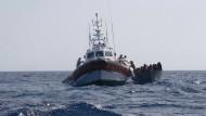 die Sea-Watch 3 Anfang August