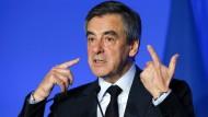 François Fillon stellt am Montag sein Programm vor.