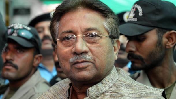 Musharraf wegen Mordes angeklagt