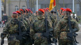 Über 800 Reservisten von Bundeswehrübungen ausgeschlossen
