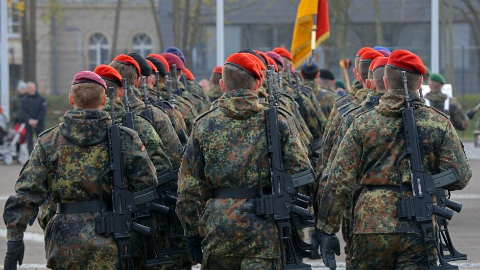 Reservisten 2013 in Dresden.