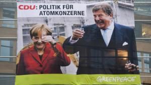 """""""CDU - Politik für Atomkonzerne"""""""