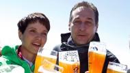 AfD und FPÖ gemeinsam auf der Zugspitze