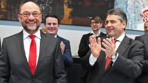 Schulz ruft SPD zum Wahlkampf bis zur letzten Sekunde auf