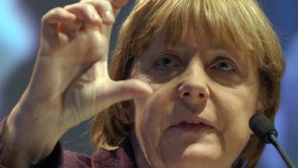 Merkel milde im Steuerstreit