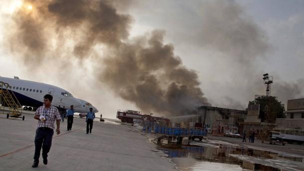 Luftwaffe tötet Planer des Flughafen-Überfalls