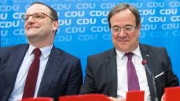 Laschet kandidiert für CDU-Vorsitz – Spahn will Stellvertreter werden