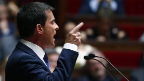 Regierungserklärung vor der Vertrauensfrage: Manuel Valls