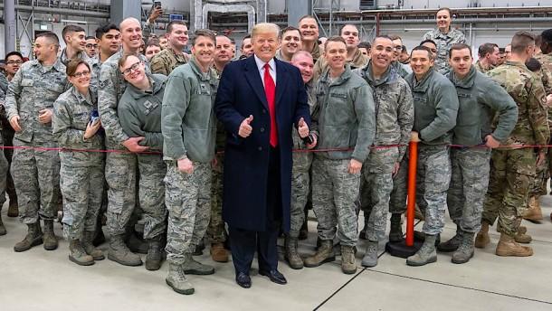 Bloß eine leere Drohung Trumps?
