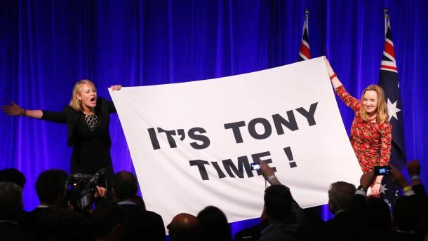 Ein deutlicher Sieg für die konservative Opposition
