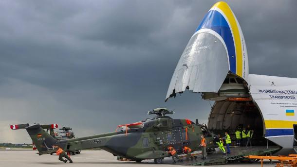 Bundeswehr schickt Transporthubschrauber nach Mali