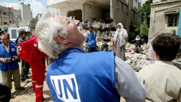 UN geben Dschenin-Kommission auf