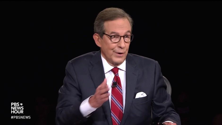 """Hatte seine Mühe mit Trump: """"Fox""""-Moderator Chris Wallace"""