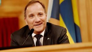 Löfven wieder als schwedischer Ministerpräsident vorgeschlagen