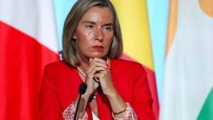 Mogherini will weiter mit der Türkei reden