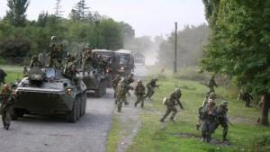 Abchasien kämpft auf Bitten Moskaus