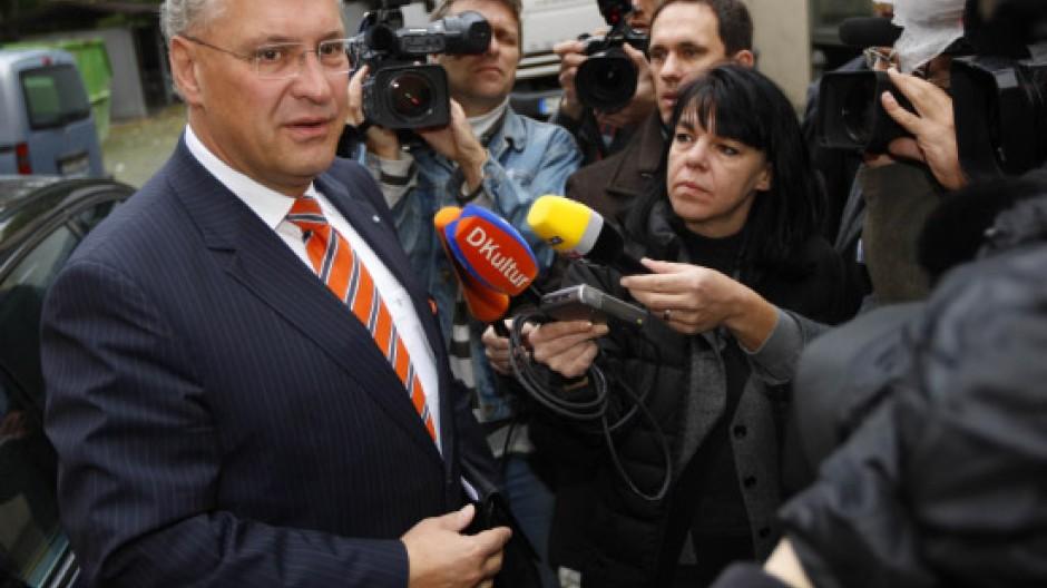 Macht er das Rennen um das Ministerpräsidentenamt? Joachim Herrmann