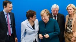 Die CDU will mehr Nachhaltigkeit
