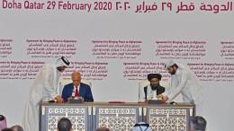 Amerikaner und Taliban unterzeichnen Abkommen