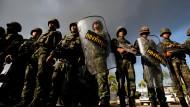 An der Macht: Soldaten der thailändischen Armee in Bangkok