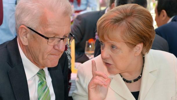 Merkel verhandelte angeblich mit Grünen über Gauck-Nachfolge