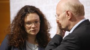 Kopf- und Gliederschmerzen in der ganzen SPD