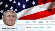 Eines der Twitter-Profile des amerikanischen Präsidenten Donald Trump