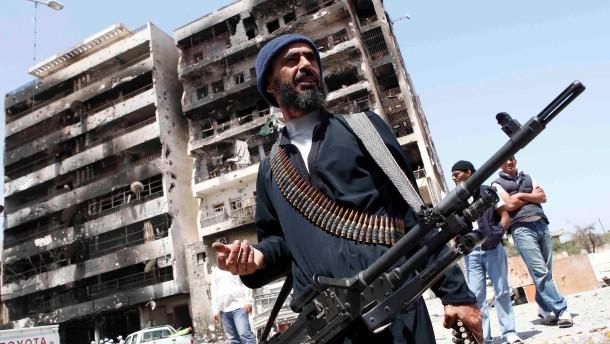 Milliardenhilfe für libysche Rebellen