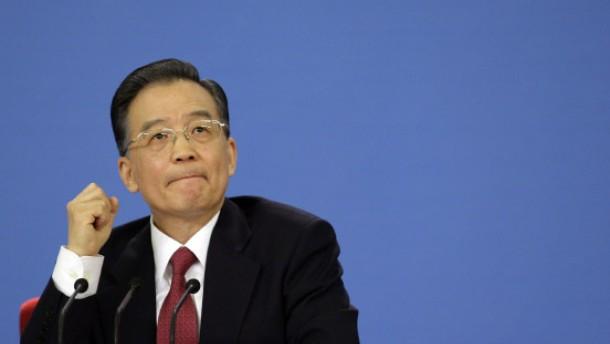 Wen Jiabao verbreitet Zuversicht