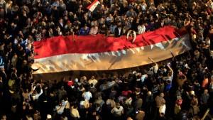 Polizei räumt Tahrir-Platz