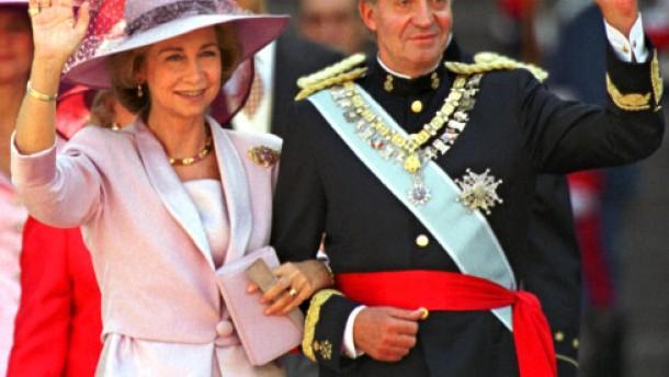König Juan Carlos wird 70