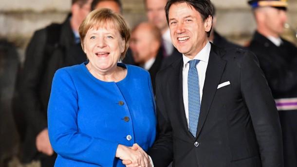 Berlin und Rom, Hand in Hand