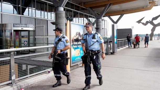 Norwegen warnt  vor Terrorakt
