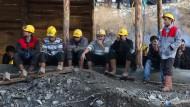 Kaum noch Hoffnung für eingeschlossene Bergarbeiter