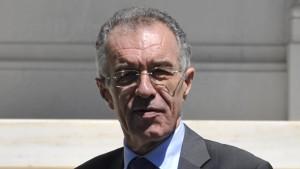 Rapanos wird doch nicht Finanzminister