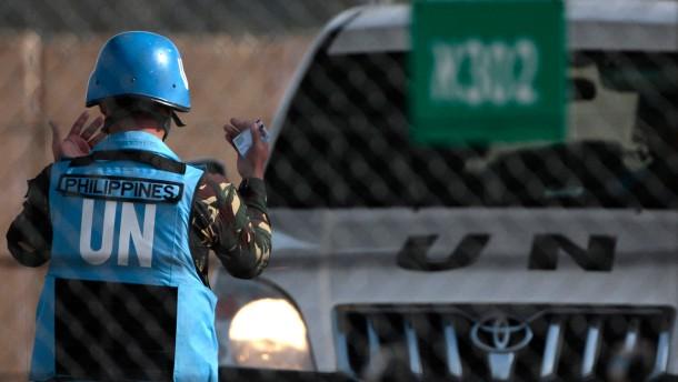 Syrische Rebellen lassen Blauhelm-Soldaten frei