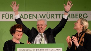 Grüne überholen CDU