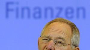 Schäuble in der Rolle des Lieblingsfeindes