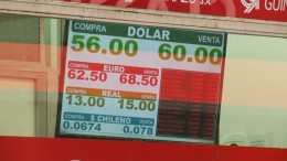 Peso fällt weiter